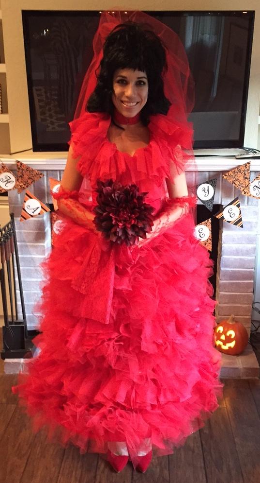DIY Beetlejuice Costumes Lydia Deetz Costume  Miss Bizi Bee