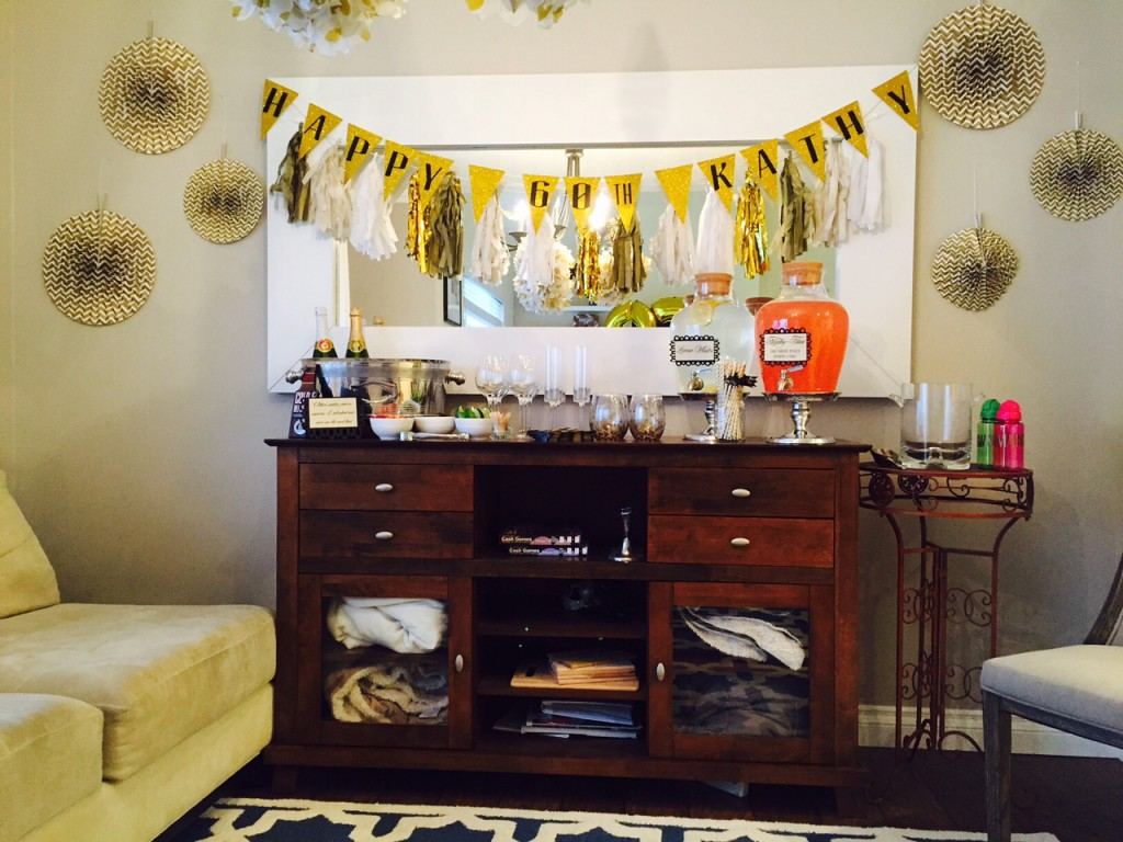 Golden Celebration 60th Birthday Party Ideas For Mom