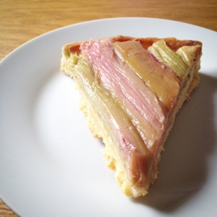 tarte à la rhubarbe fondante (2)