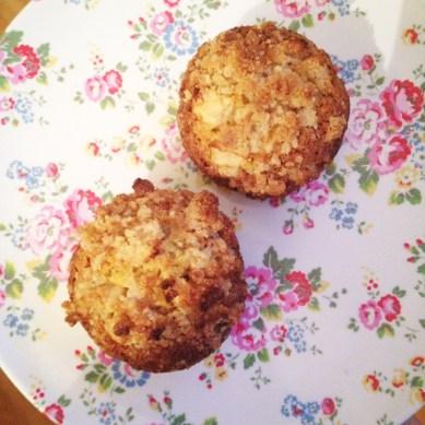 muffins à la pomme
