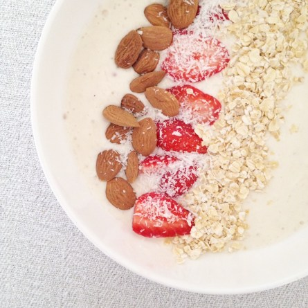 Smoothie bowl fraise banane (4)
