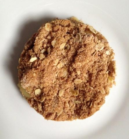 crumble pomme, épeautre et flocons d'avoine (3)