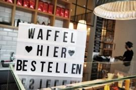 SunnySu Bonn Kölnstraße - nun gibt es Eggwaffles auch in Bonn dazu Frozen Yogurt