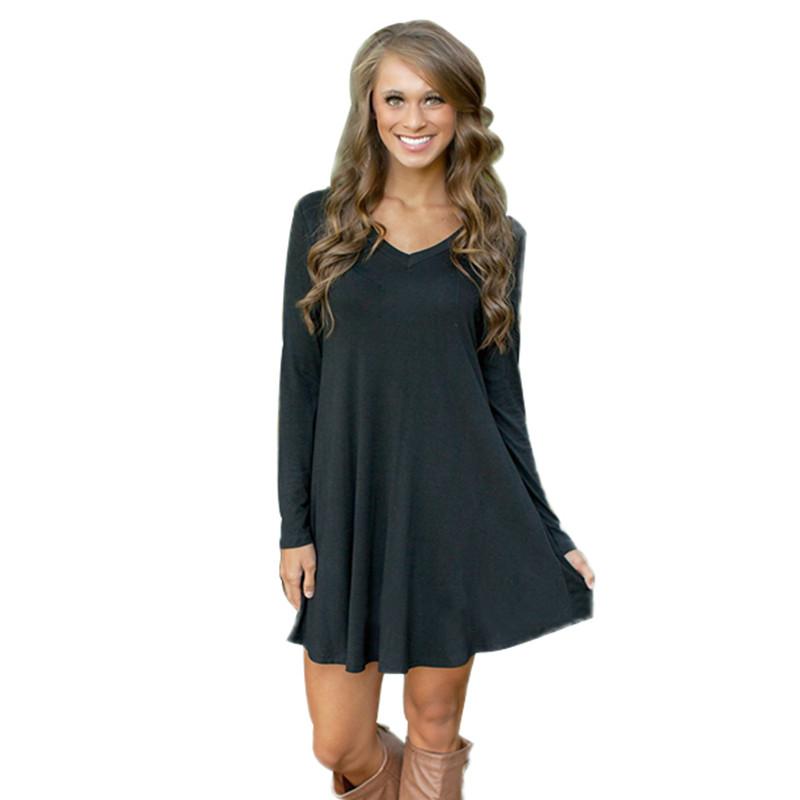 Cheap long sleeve black dress shirts for women