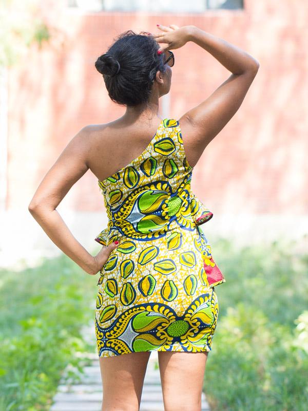 Modele de robe courte en pagne  Photos de robes