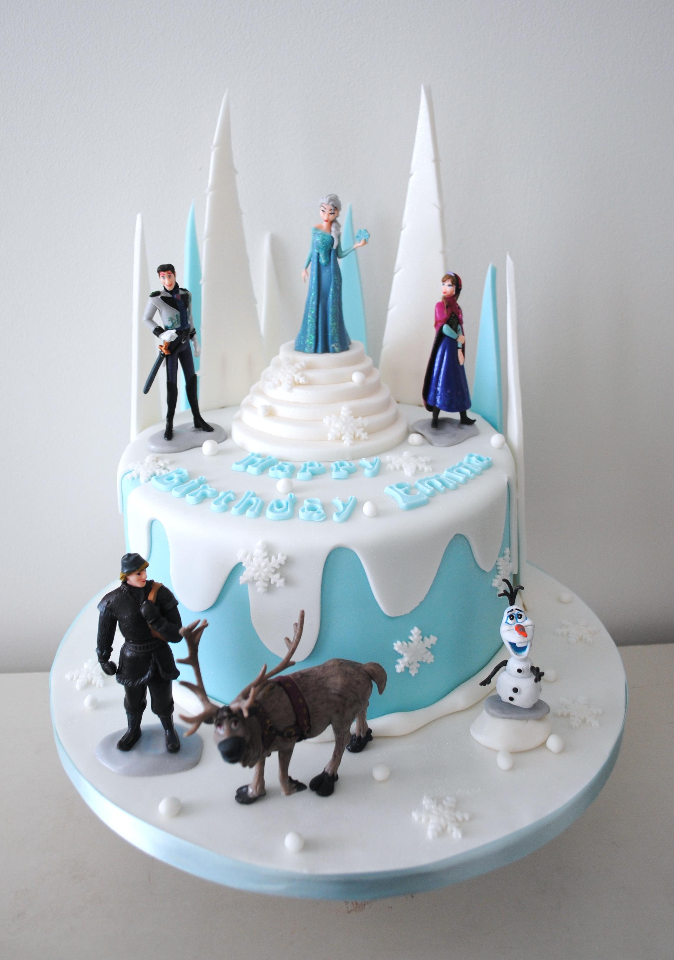 Frozen 2 Birthday Cakes London Cupcakes