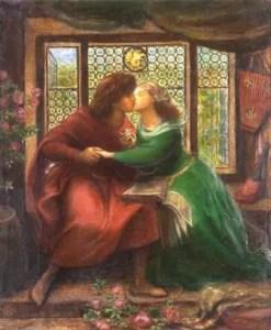 Paolo e Francesca da Rimini (Dante Gabriel Rossetti, 1867)