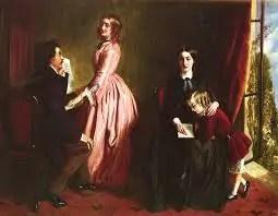 Rebecca Solomon, La governante, 1851 educazione femminile
