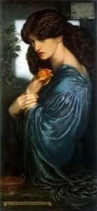 270px Dante Gabriel Rossetti   Proserpine