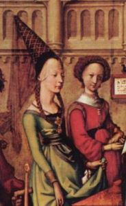 COpricapi femminili nel Medioevo
