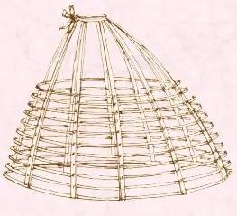 Crinolina del 1863 www.theblondesalad.com