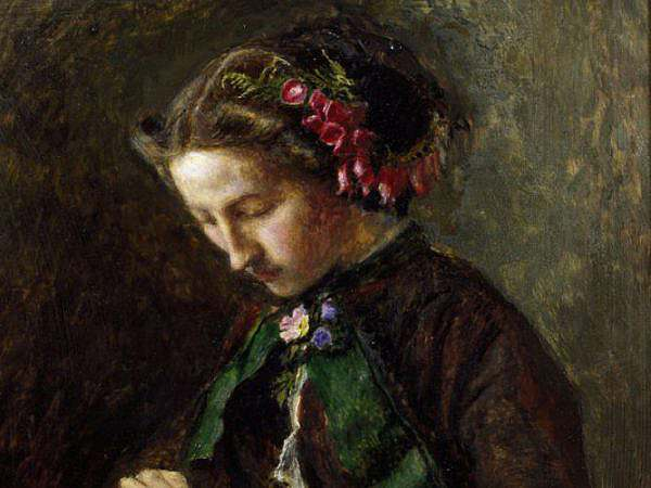 Effie Gray   Portrait by John Everett Millais 1853