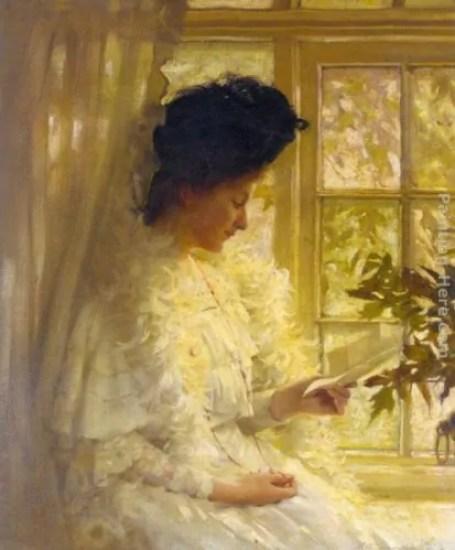 Thomas Benjamin Kennington, The letter, 1890.