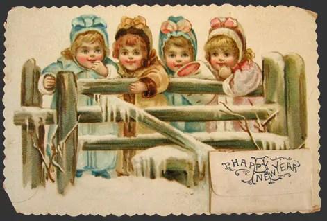 Il capodanno in epoca vittoriana
