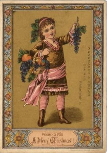 cartoline natalizie vittoriane