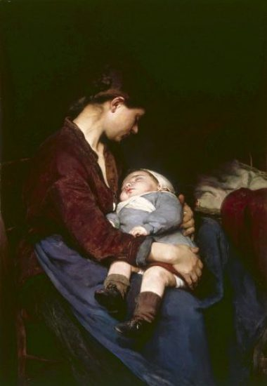 maternità vittoriana