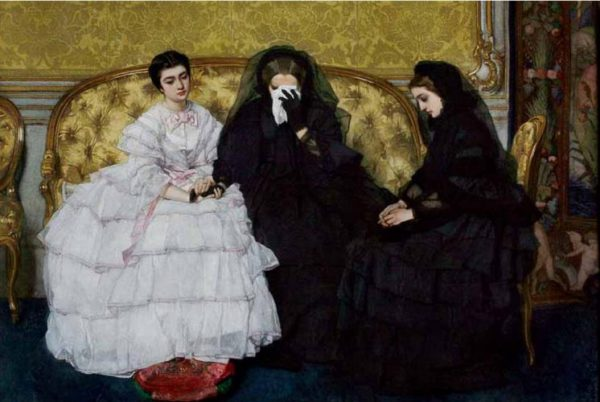 In Memoriam painting by Alfred Stevens