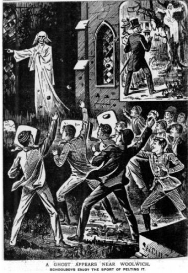 Ghost Stories in The Illustrated Police News