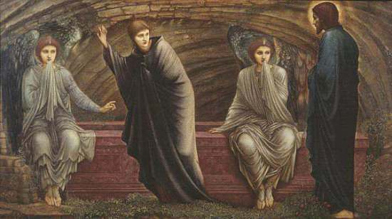 The Morning of the Resurrection 1886 Sir Edward Coley Burne-Jones, Bt 1833-1898 Bequeathed by Mrs S.G. Potter 1937 http://www.tate.org.uk/art/work/N04888