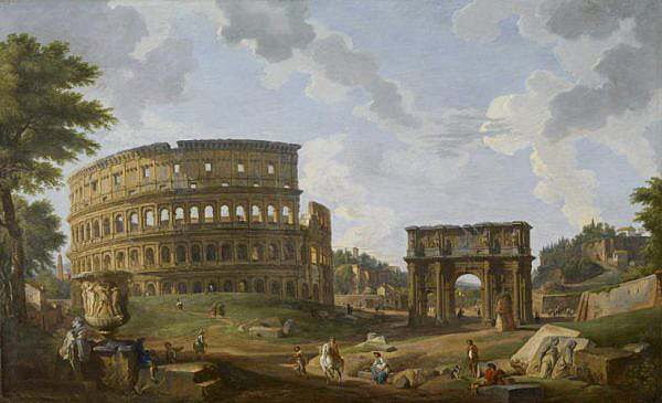 Giovanni Paolo Panini   View of the Colosseum   Walters 372367