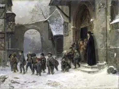 l'inverno nell'arte ottocentesca
