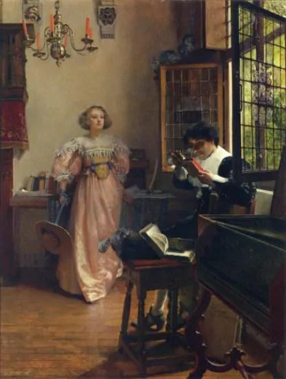 Laura Alma-Tadema – The Persistent Reader