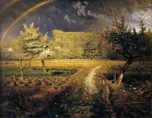 La primavera nell'arte ottocentesca