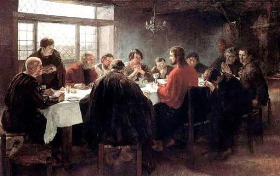 giovedì santo nell'arte vittoriana