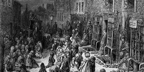 slums povertà vittoriana