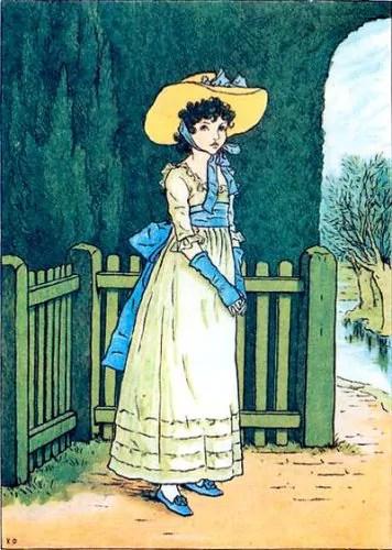Kate Greenway illustratrice
