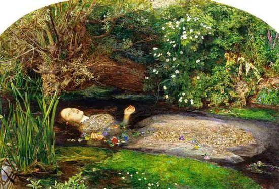 Ofelia di Millais
