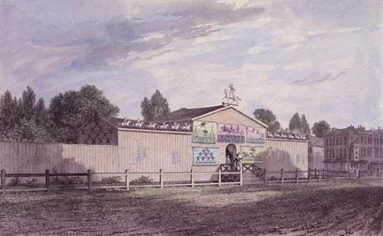 Il circo in epoca Regency – L'Astley's Amphitheatre
