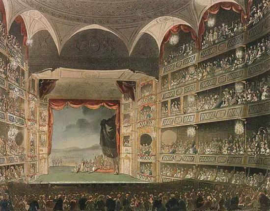 teatri nella londra regency