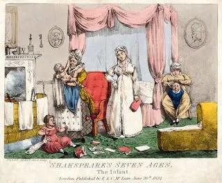 la gravidanza in epoca regency