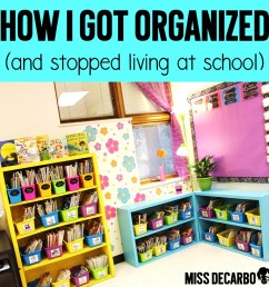 How I Stay Organized: Weekly Lesson Planning Tips \u0026 Tricks - Miss DeCarbo [ 985 x 985 Pixel ]