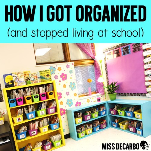 small resolution of How I Stay Organized: Weekly Lesson Planning Tips \u0026 Tricks - Miss DeCarbo