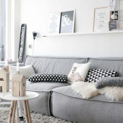 Barletta Sofa Cream Color Leather Set Buscando La Inspiración: Quiero Un Salón Estilo Nórdico ...
