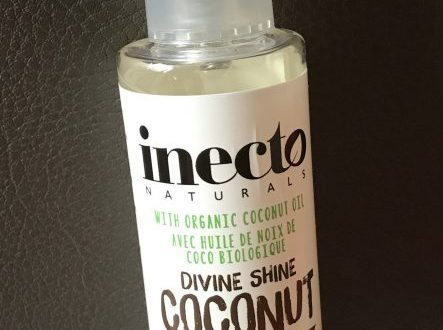 Inecto hair oil