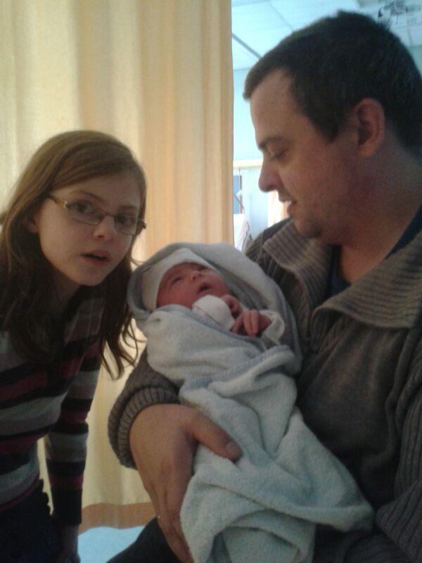 Alyssa pas geboren