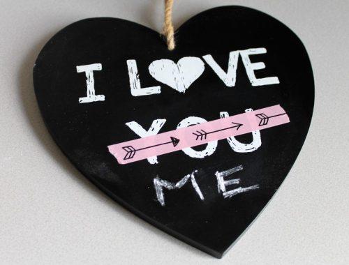 alleen met valentijnsdag