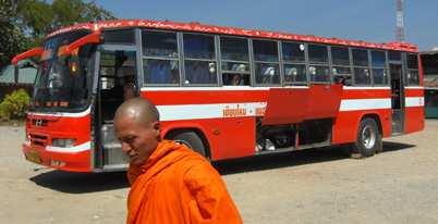 Bus journey from Mae Hong Son