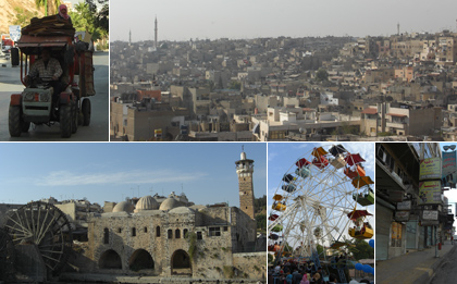 Around Hama