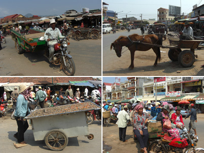 Moving around Kampot