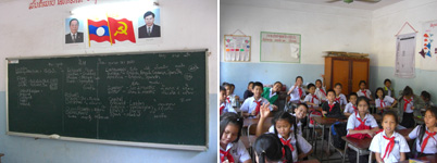 Teaching in Vientiane