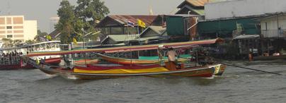 Long Boat Taxi, Bangkok