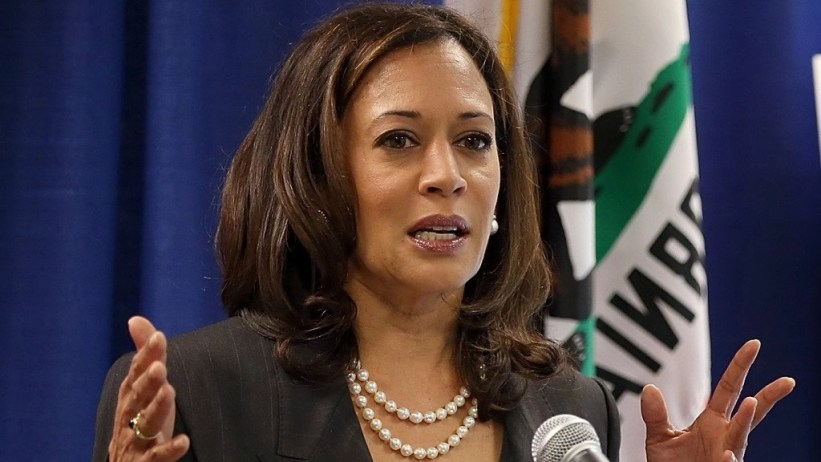 Attorney General Kamala Harris as district attorney
