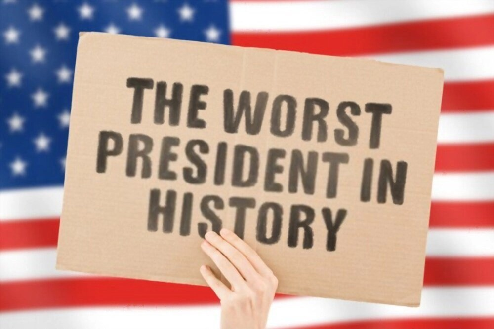 Historians will put down Trump as the worst president