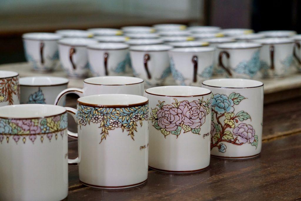 Benjarong Thai porcelain