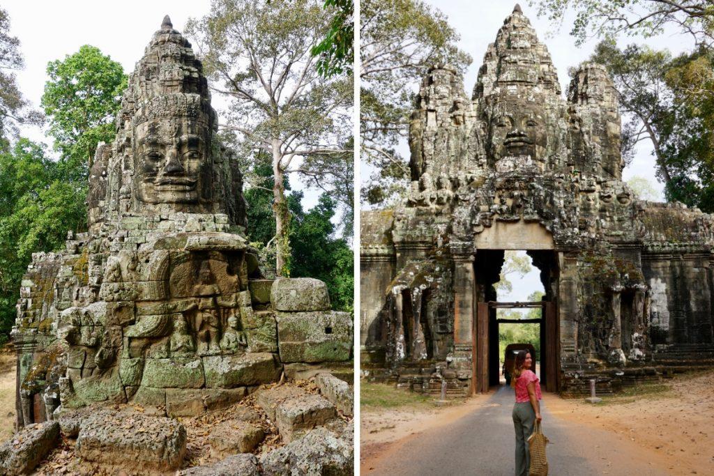 Angkor Wat Gates