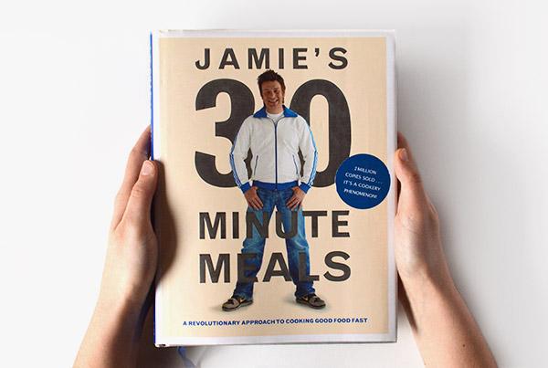 Las comidas en 30 minutos de Jamie Oliver